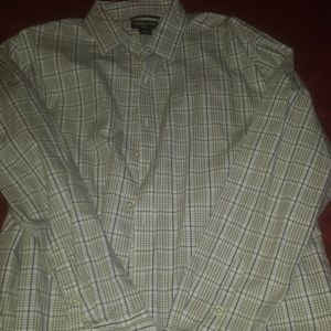 MENS CLAIBORNE SLIM FIT DRESS SHiRT
